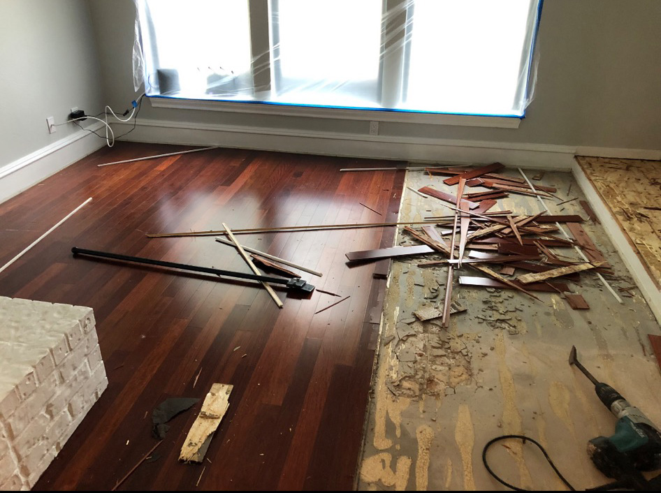 Water Damaged Room Repair Austin TX